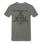 King B. Hustle Premium T-Shirt - asphalt gray