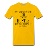 King B. Hustle Premium T-Shirt - sun yellow