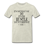 King B. Hustle Premium T-Shirt - heather oatmeal