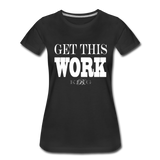 King B. Work Women's Premium T-Shirt - black