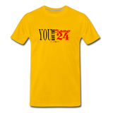 24 R&B Premium T-Shirt - sun yellow