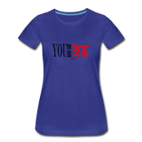 24 R&B Women's Premium T-Shirt - royal blue