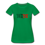 24 R&B Women's Premium T-Shirt - kelly green