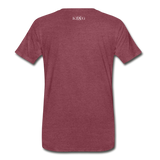 King B. Brand Conservative Premium T-Shirt - heather burgundy