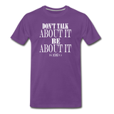 King B. Be Premium T-Shirt - purple