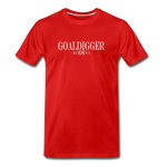 King B. Goaldigger Premium T-Shirt - red