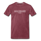 King B. Goaldigger Premium T-Shirt - heather burgundy