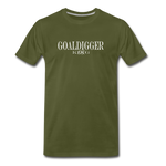 King B. Goaldigger Premium T-Shirt - olive green