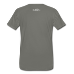 King B. Power (Mandarin) Premium T-Shirt - asphalt gray