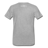 King B.'s ROOST Connoisseur Premium T-Shirt - heather gray