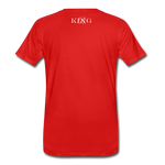 King B.'s ROOST Connoisseur Premium T-Shirt - red