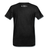 King B.'s ROOST Connoisseur Premium T-Shirt - charcoal gray
