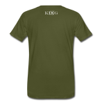 King B.'s ROOST Connoisseur Premium T-Shirt - olive green