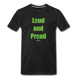 Loud and Proud - black
