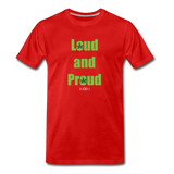 Loud and Proud - red