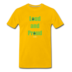 Loud and Proud - sun yellow