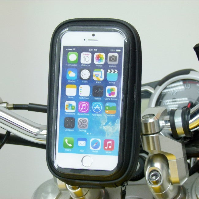 "Waterproof Easy Fit Cycle Bike Handlebar Mount for iPhone 7 (4.7"") sku 35869)"