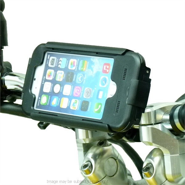Metal U Bolt Motorcycle Bike Handlebar with Tigra Case for iPhone 7 (sku 44889)