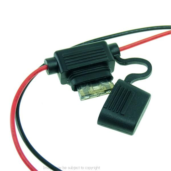 BuyBits High Power Motorcycle Hardwire Direct to Battery Cable for Samsung Galaxy Note 10 (sku 50673) - BuyBits Ltd UK