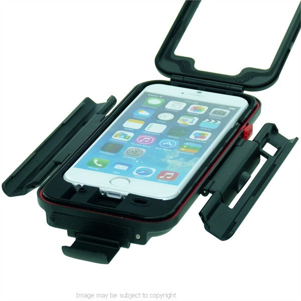 High Power Hella - DIN M8 Motorcycle Mount Bundle with TiGRA Case for iPhone 7 (sku 45219)
