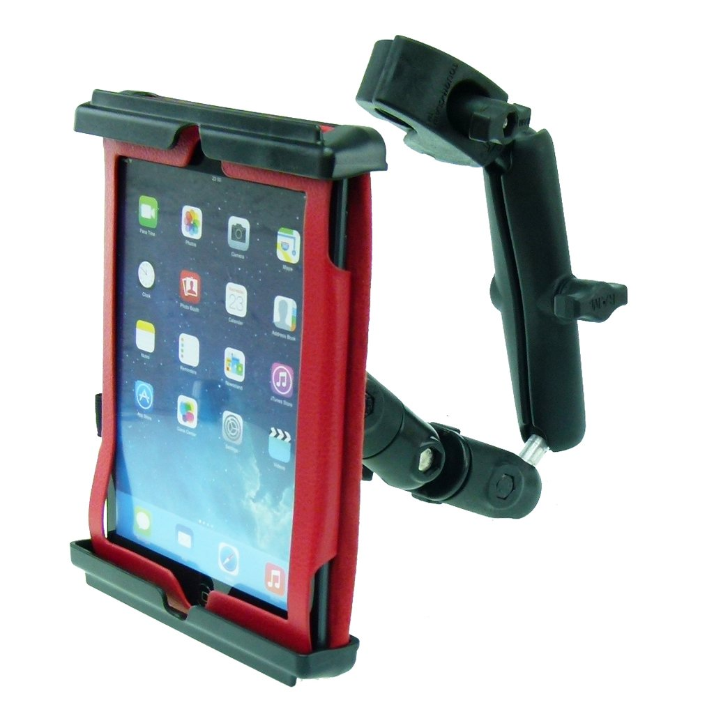 Wheelchair Rail - Tube Mount with Extension & Tablet Holder for Apple iPad Mini 2019 (sku 50612) - BuyBits Ltd UK