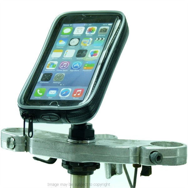 High Power Hardwire Yoke 30 Motorcycle Yoke Nut Cap Mount Waterproof case for iPhone 8 Plus 5.5 (sku 44568)