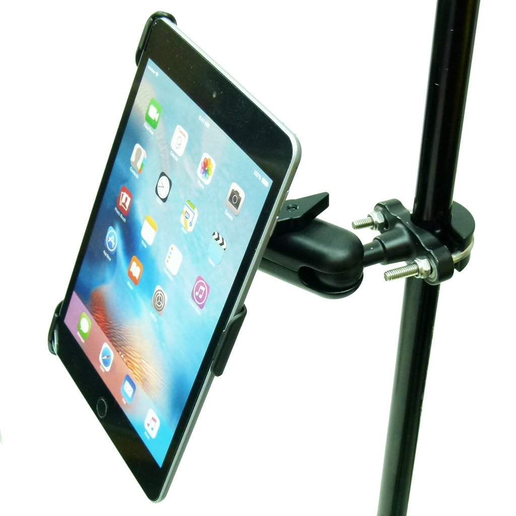 Dedicated Secure Music Microphone Stand Mount for iPad Mini 2019 (sku 50577) - BuyBits Ltd UK