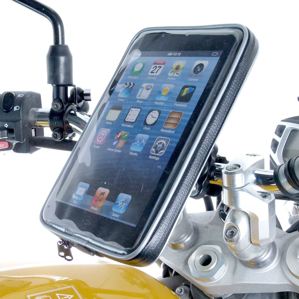 Weather Resistant U-Bolt Motorcycle Handlebar Mount for iPad Mini 4 (sku 57374)