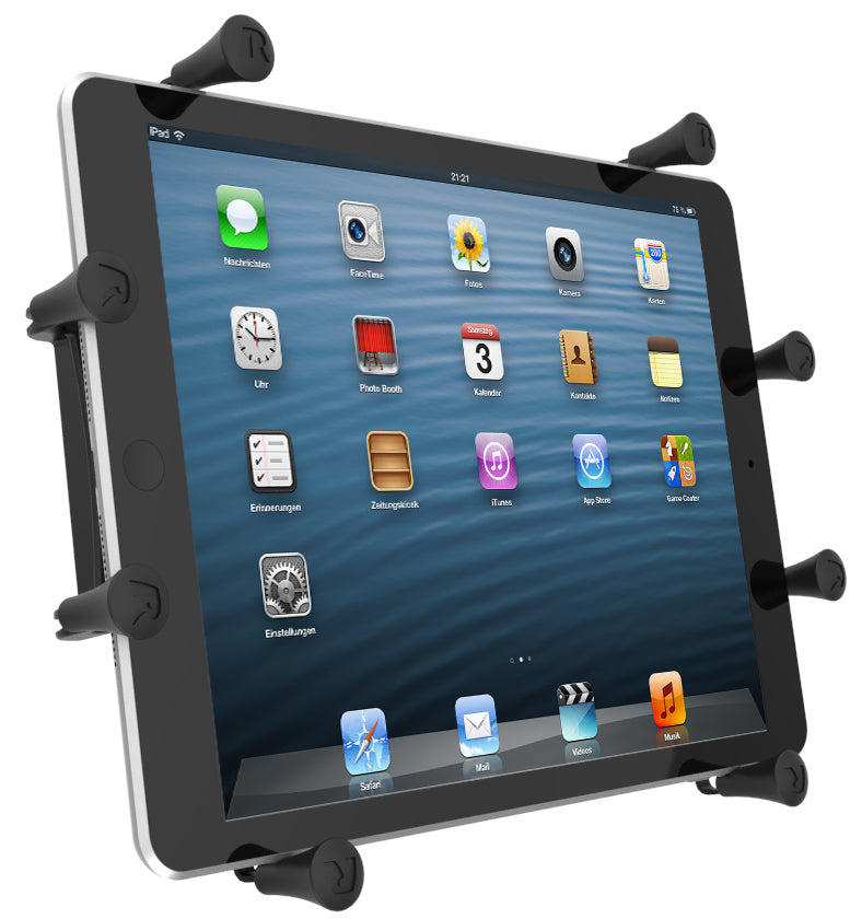 "Heavy-Duty Clamp Wheelchair Mount & Universal Cradle for 9 - 10"" Tablets (sku 57081)"