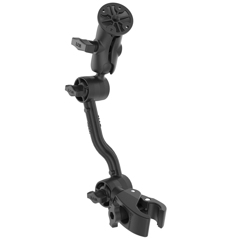 RAM Tough-Claw with Ratchet Extension Arm and Double Ball Mount (RAP-418-400-PA-202UU) (sku 57068)