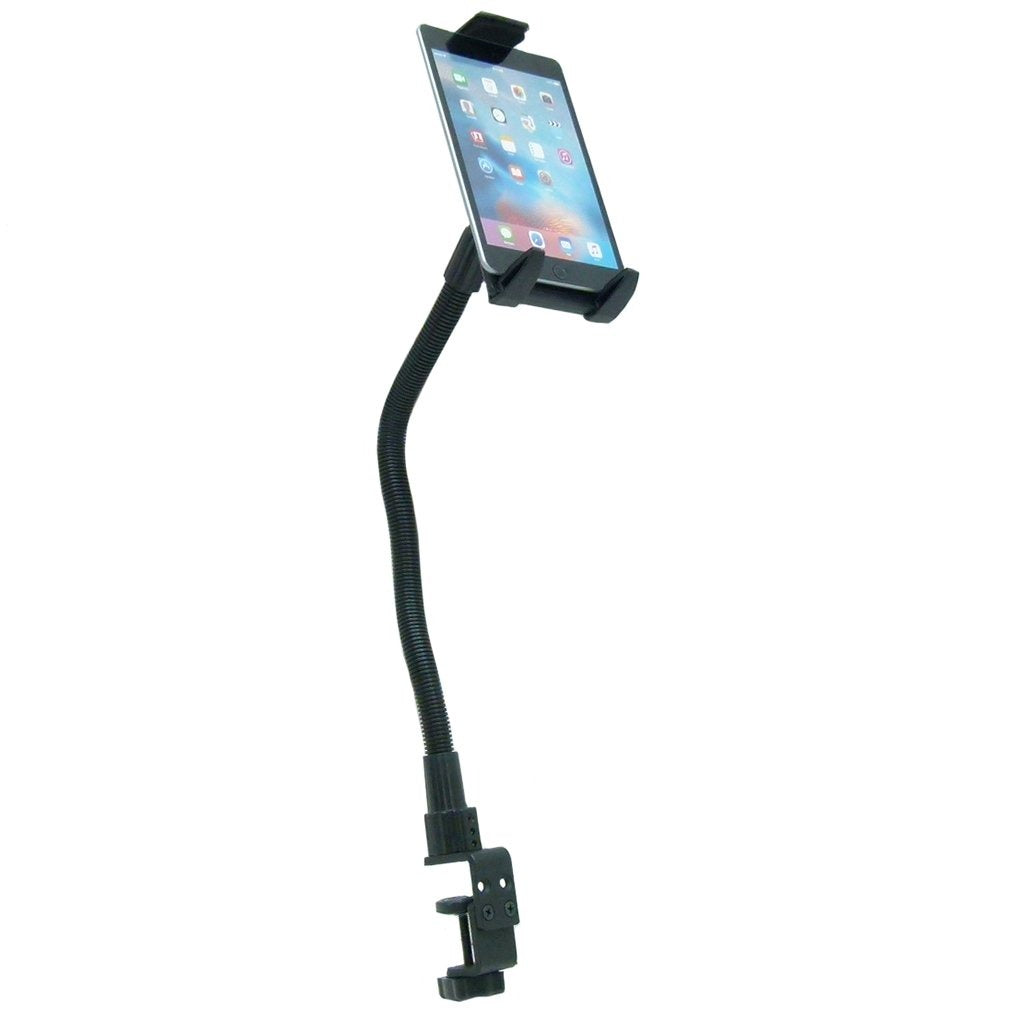"Arkon Heavy-Duty 22"" Gooseneck Tablet Table Clamp Mount w- Quick Release Holder fits Apple iPad Mini 2019 (sku 50549) - BuyBits Ltd UK"