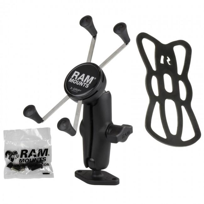 "RAM 1"" Ball Mount with Diamond Base & X-Grip® for Samsung Galaxy Note 10 Lite (sku 50846) - BuyBits Ltd UK"