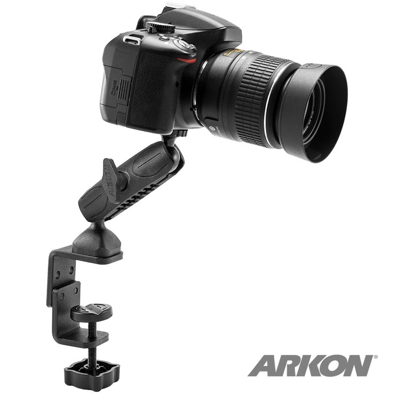 Arkon RM0861420 Robust Series Heavy Duty C-Clamp Drift Ghost - Contour Camera Mount (sku 31905)