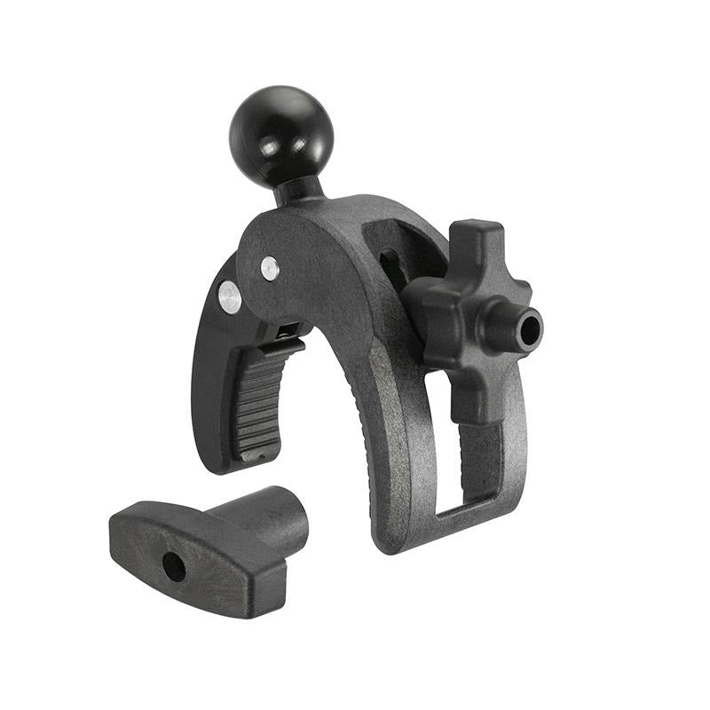 Adjustable Robust Golf Trolley Clamp Mount with Rain Cover for iPhone 11 PRO (sku 49763) - BuyBits Ltd UK
