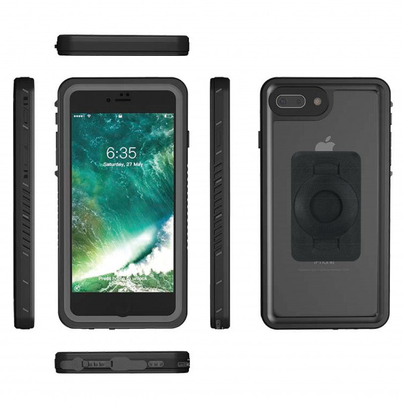 Extended Crossbar mount & TiGRA DRY Case for iPhone 8 PLUS (sku 45550)