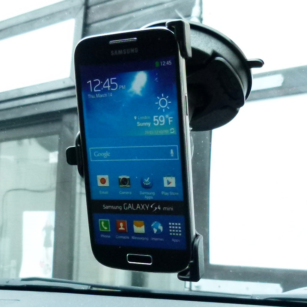 BuyBits Dedicated Car Windscreen Mount for Samsung Galaxy S4 Mini (sku 35985)