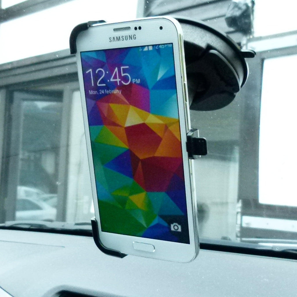 BuyBits Dedicated Car Windscreen Mount for Samsung Galaxy S5 (sku 35983)