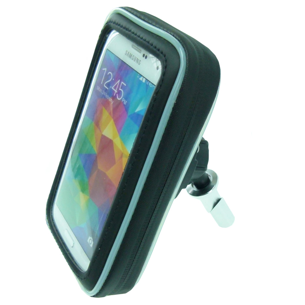 20.5-24.5mm Motorcycle Fork Stem Mount with Arkon Waterproof Case fits Samsung Galaxy S5 (sku 36271)
