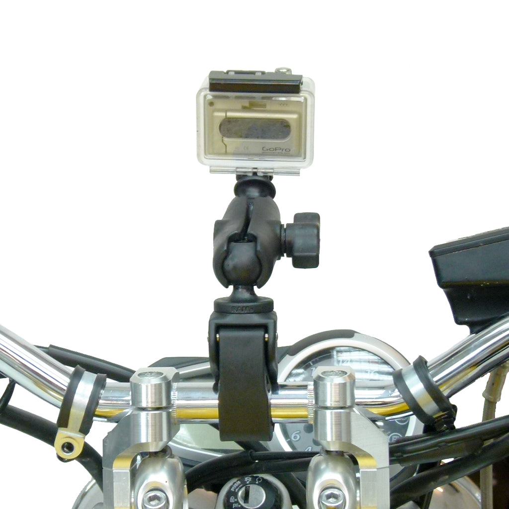 Tough-Claw Handlebar Mount with Standard Double Socket Arm for GoPro Hero Camera (sku 30610)