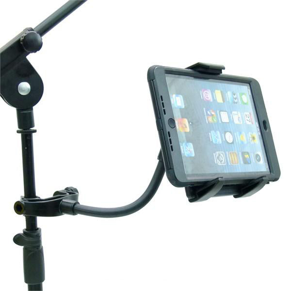 Quick Release Music Microphone Stand Tablet Holder for Apple iPad Mini 2019 (sku 50583) - BuyBits Ltd UK