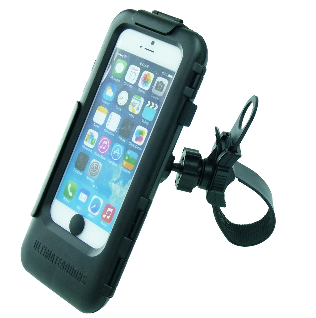Locking Strap Tough Case Bike Handlebar Mount for iPhone 7 (sku 44883)
