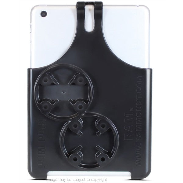 RAM EZ-ROLL'R Cradle for Apple iPad Mini 4 & Twist Lock Suction Cup Base (sku 33111)