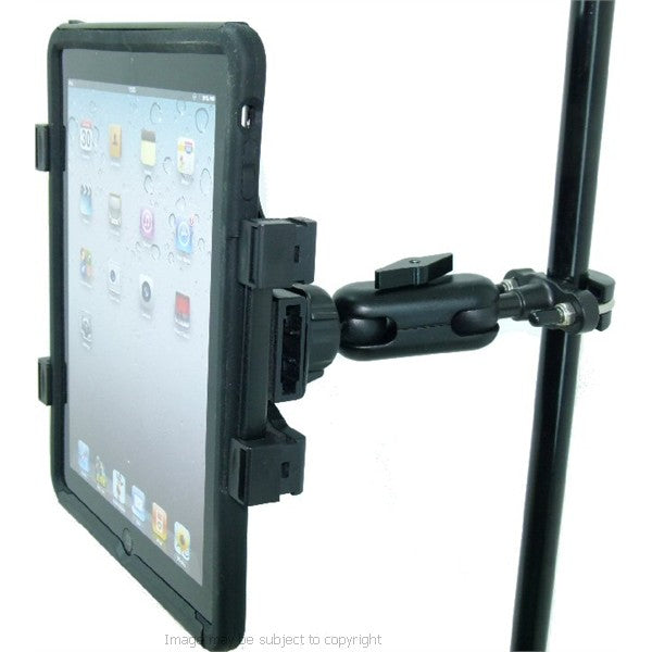 Secure Music Microphone Stand Mount Holder for Apple iPad Air 2 (sku 20804)
