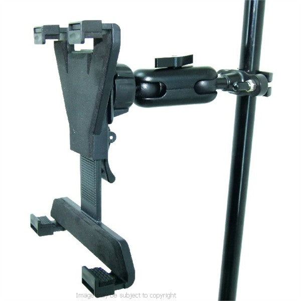Secure iPad 2 Music Microphone Stand Mount Holder (sku 16020)