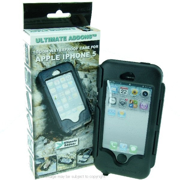 Motorcycle Hardwire Powered Quick Release Tough Case Strap Mount for iPhone 5 (sku 16418)