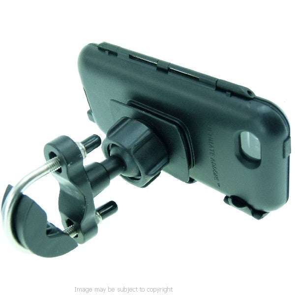 Secure Metal U-Bolt Cycle Bicycle Handlebar Tough Case Mount for iPhone 5 (sku 16210)