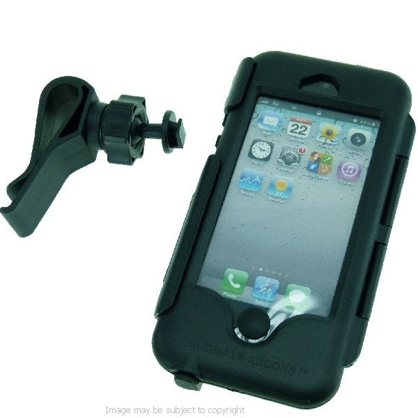 IPX4 Waterproof Tough Case Golf Bag Clip Mount for iPhone 5 (sku 16250)