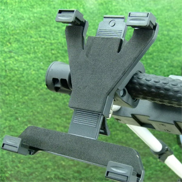 Adjustable 'Quick Fix' Apple iPad Air Golf Trolley Mount (sku 18317)