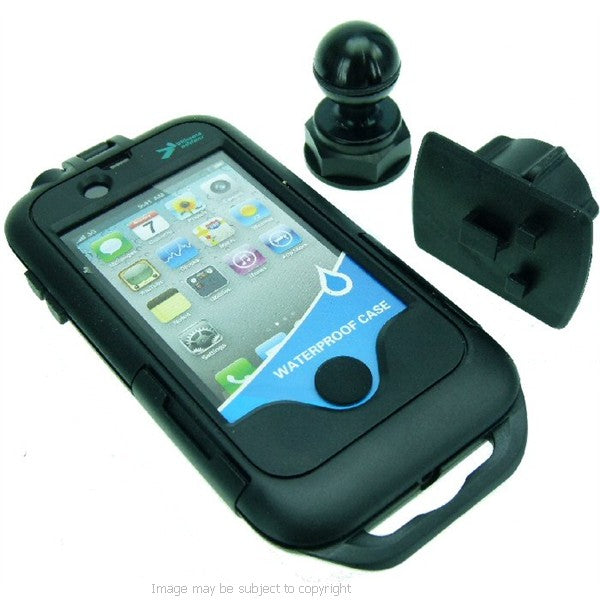 iPhone 4 Tough Case Motorcycle Yoke Nut Cap Mount 20 (sku 16683)
