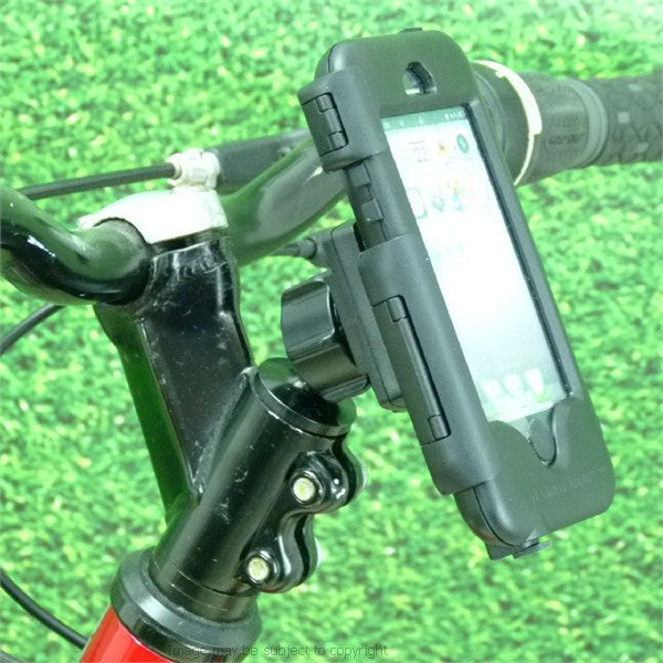 Bicycle Head Stem Mount with Waterproof Tough Case for iPhone SE (sku 34961)